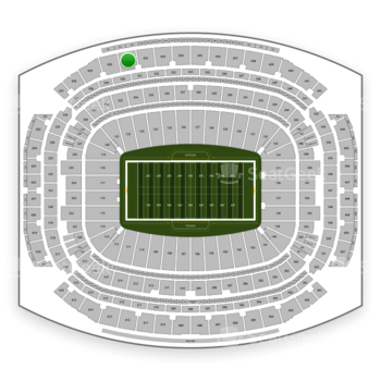 Houston Texans at NRG Stadium Section 631 View