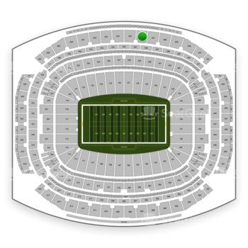 Houston Texans at NRG Stadium Section 636 View