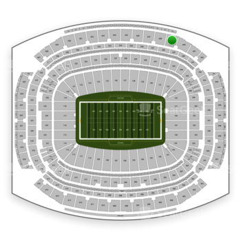 Houston Texans at NRG Stadium Section 639 View
