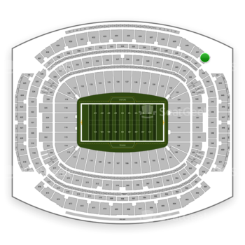 Houston Texans at NRG Stadium Section 642 View