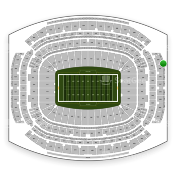 Houston Texans at NRG Stadium Section 744 View