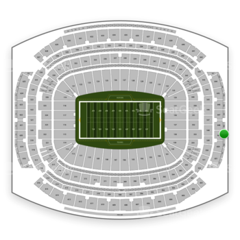 Houston Texans at NRG Stadium Section 749 View