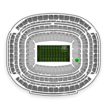 Houston Texans at Reliant Stadium Section 118 View