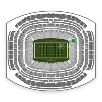 Houston Texans at NRG Stadium Section 114 View