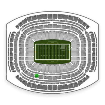 Houston Texans at NRG Stadium Section 341 View