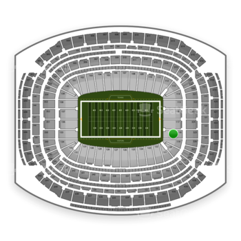 NFL at NRG Stadium Section 118 View
