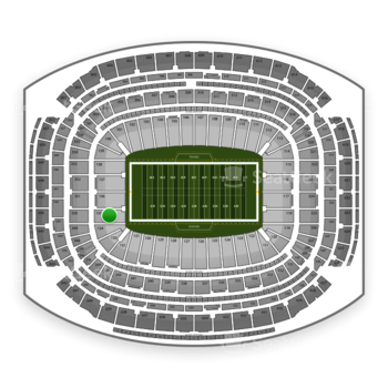 NFL at NRG Stadium Section 135 View