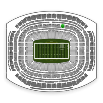 NFL at NRG Stadium Section 312 View