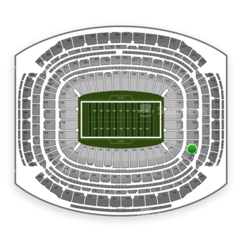 NFL at NRG Stadium Section 327 View