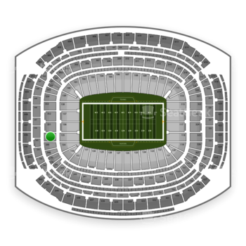 NFL at NRG Stadium Section 350 View