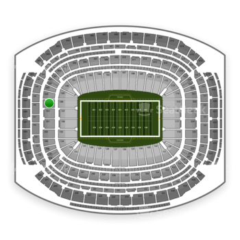NFL at NRG Stadium Section 353 View