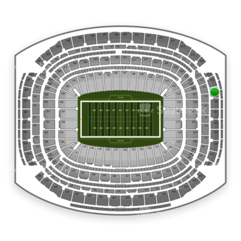 NFL at NRG Stadium Section 619 View