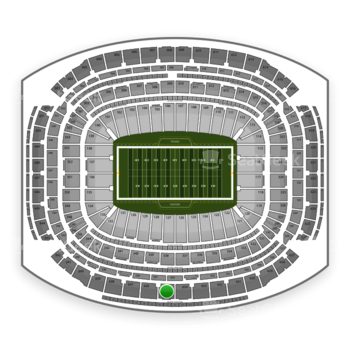 NFL at NRG Stadium Section 635 View