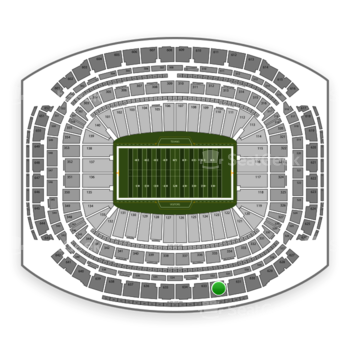 Houston Texans at NRG Stadium Section 632 View