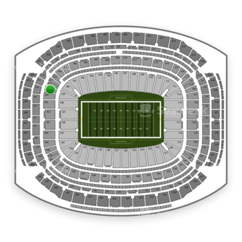 Super Bowl at NRG Stadium Section 355 View