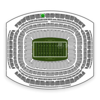 Super Bowl at NRG Stadium Section 607 View