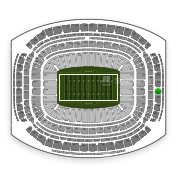 Super Bowl at NRG Stadium Section 622 View