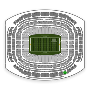 Super Bowl at NRG Stadium Section 630 View