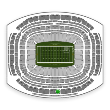 Super Bowl at NRG Stadium Section 634 View
