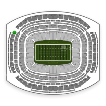 Super Bowl at NRG Stadium Section 652 View