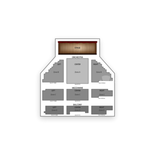 Belasco Theatre Seating Chart Concert