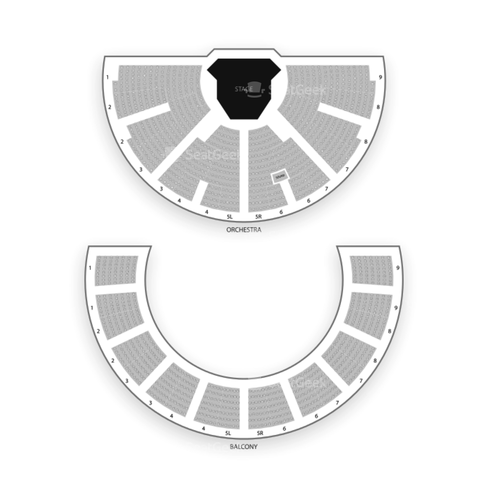 Festival Theatre Stratford Seating Chart Concert
