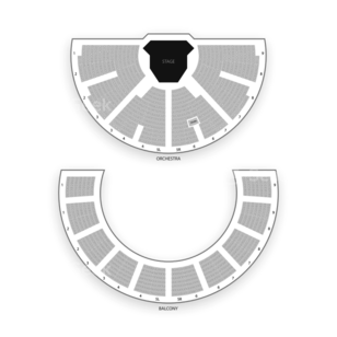 Stratford Festival Theatre Seating Chart Dance Performance Tour