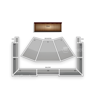 Wells Fargo Center for the Arts Seating Chart Comedy