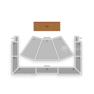 Wells Fargo Center for the Arts Seating Chart Literary