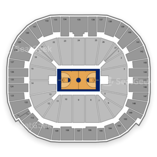 BYU Cougars Basketball Seating Chart