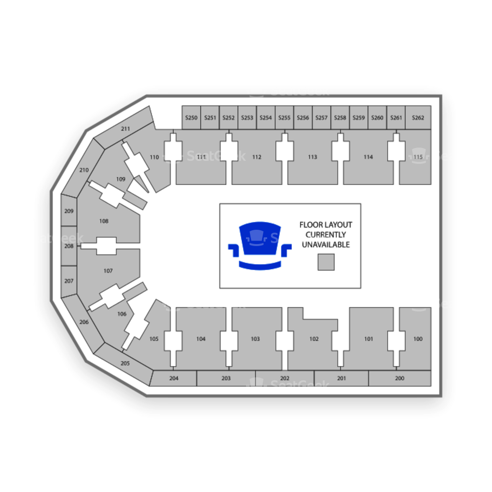United Wireless Arena Seating Chart Concert