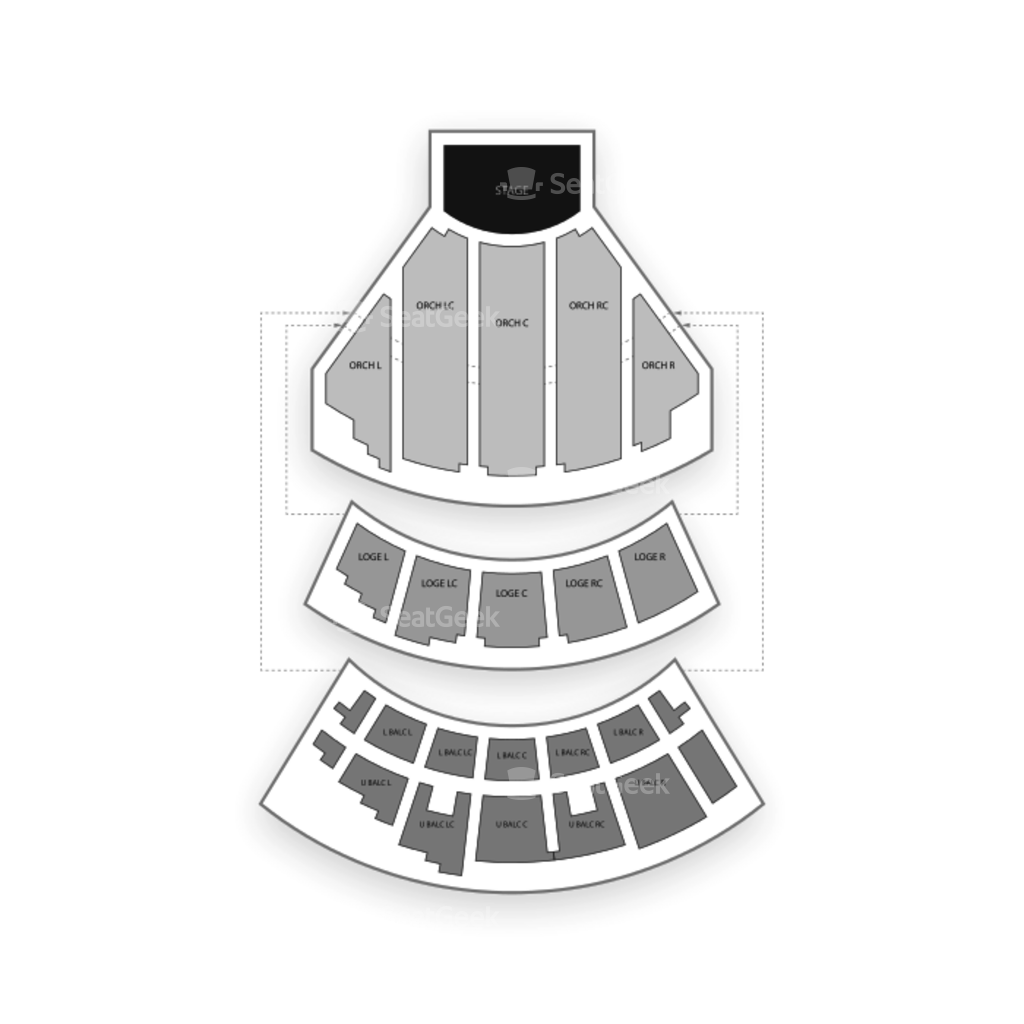 beacon theater nyc interactive seating chart