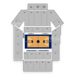 Santa Clara Broncos Basketball Seating Chart