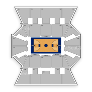 Gonzaga Bulldogs Basketball Seating Chart