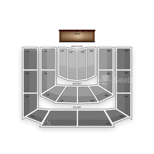 Massey Hall Seating Chart Family