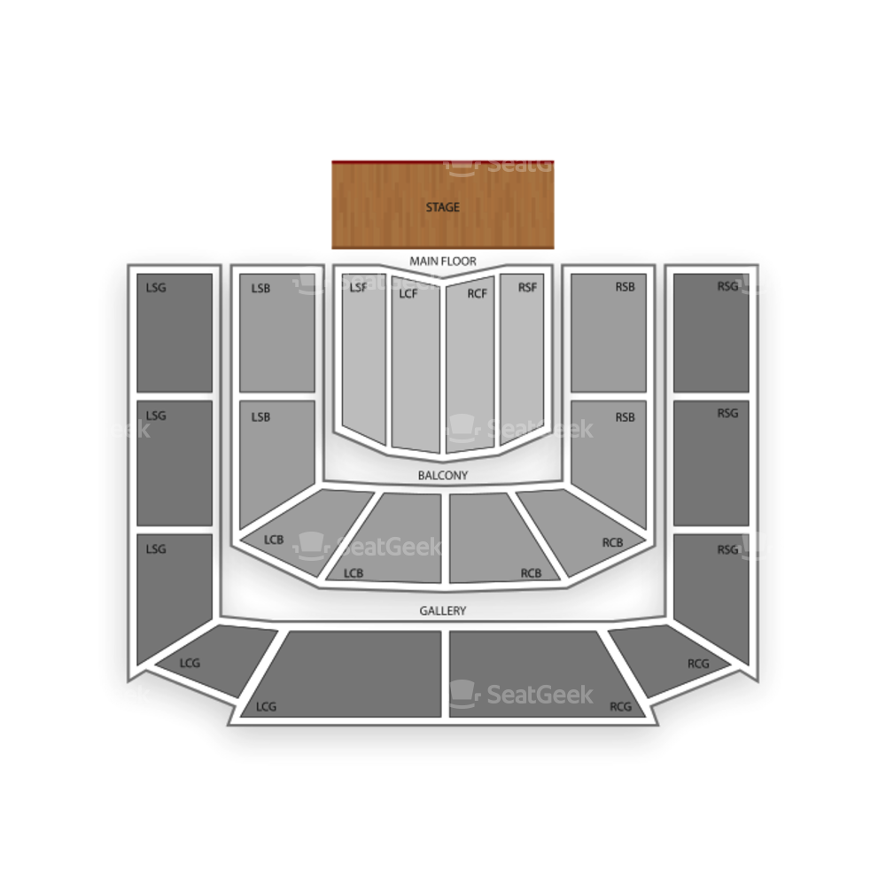 Massey Hall Seating Chart Concert