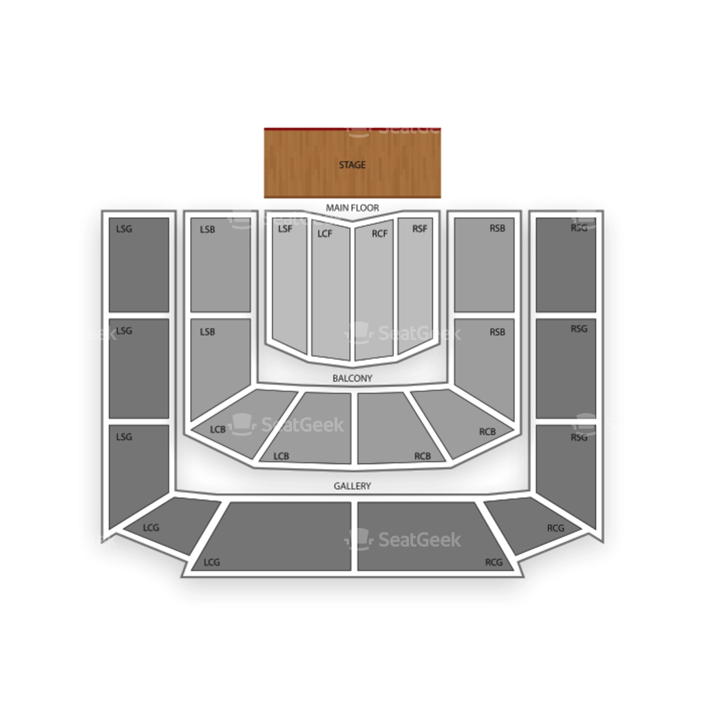 massey hall seating chart u0026 interactive seat map seatgeek