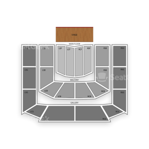 Massey Hall Seating Chart Theater
