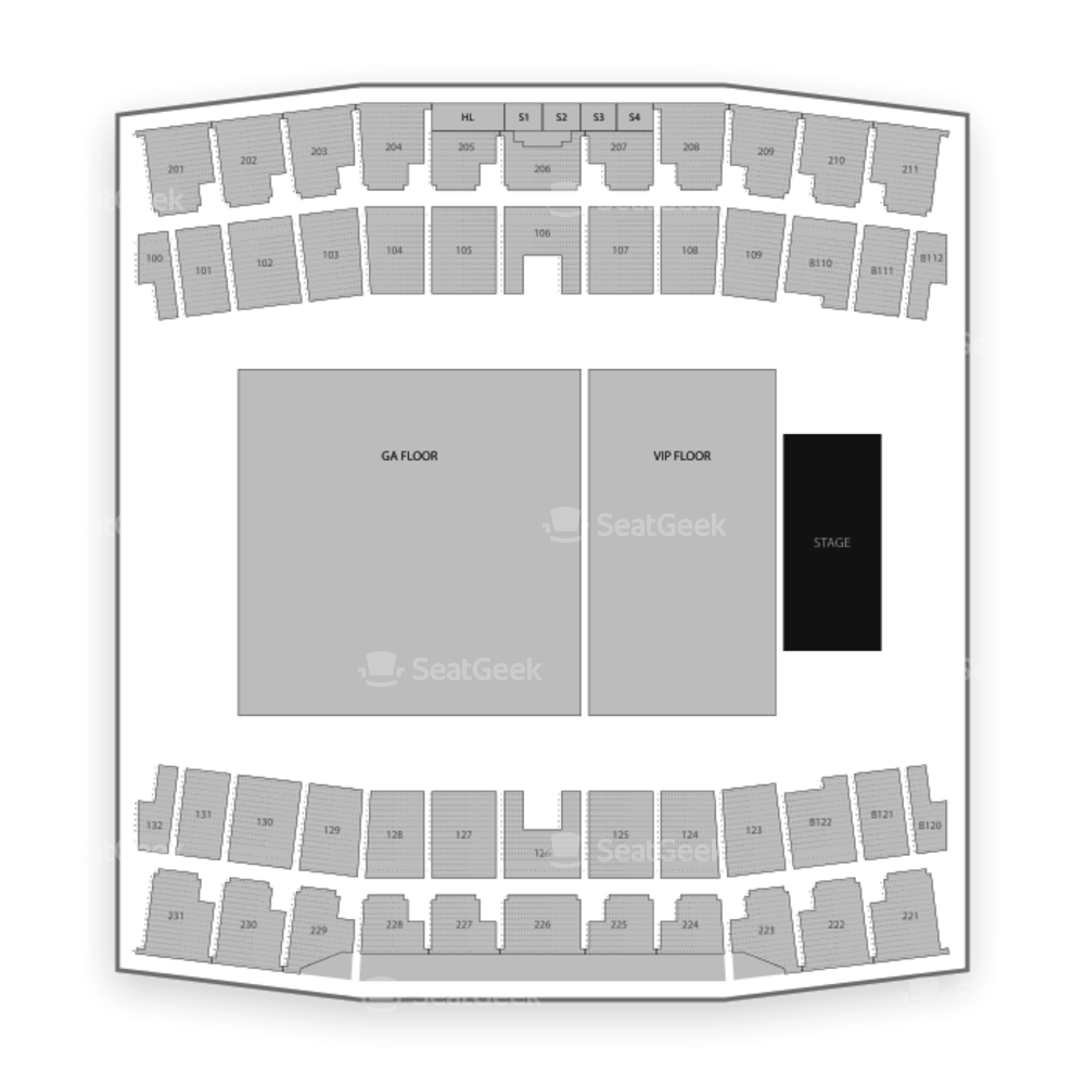 Ford Center Seating Chart Music Festival
