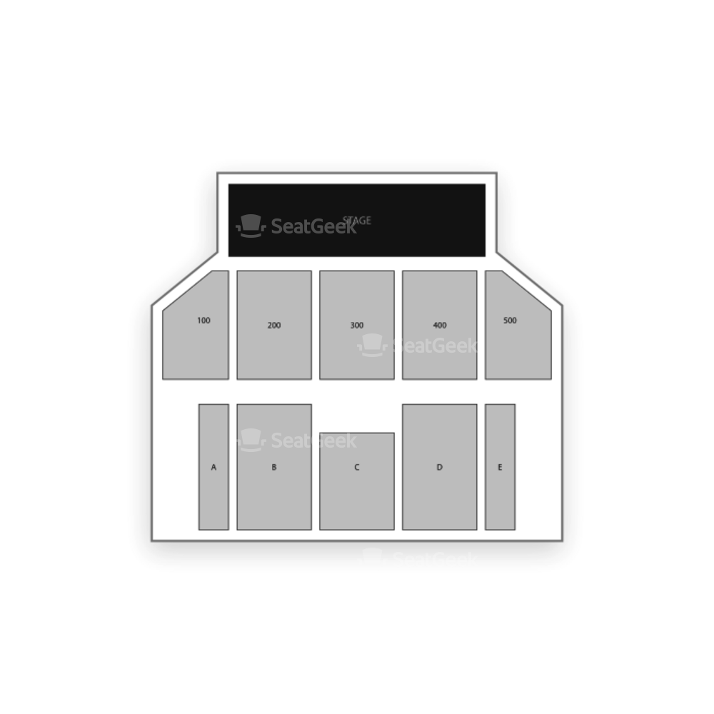 The Borgata Event Center Seating Chart Theater