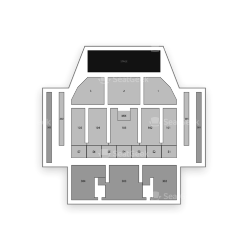 MGM National Harbor Seating Chart Concert