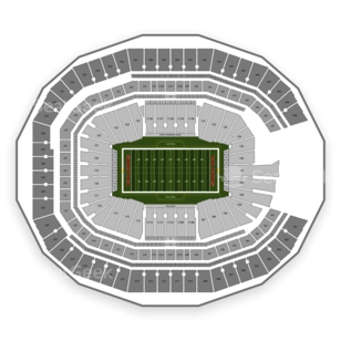 Atlanta Falcons Seating Chart & Interactive Map | SeatGeek
