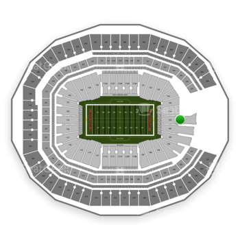NFL at Mercedes-Benz Stadium Section 101 View