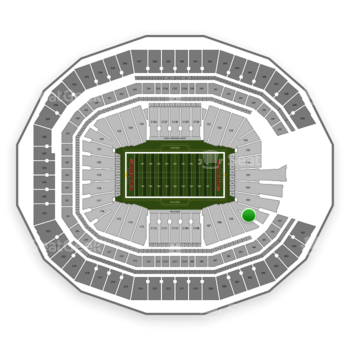 NFL at Mercedes-Benz Stadium Section 104 View
