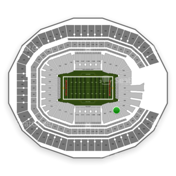 NFL at Mercedes-Benz Stadium Section 105 View