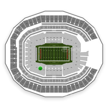 NFL at Mercedes-Benz Stadium Section 114 View