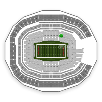 NFL at Mercedes-Benz Stadium Section 131 View