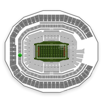 NFL at Mercedes-Benz Stadium Section 223 View