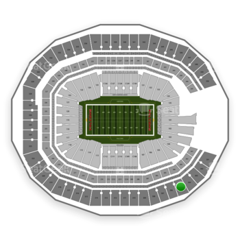 NFL at Mercedes-Benz Stadium Section 305 View