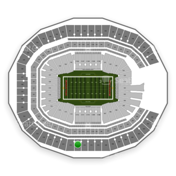 NFL at Mercedes-Benz Stadium Section 313 View
